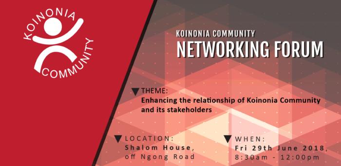 Koinonia Community Networking Forum